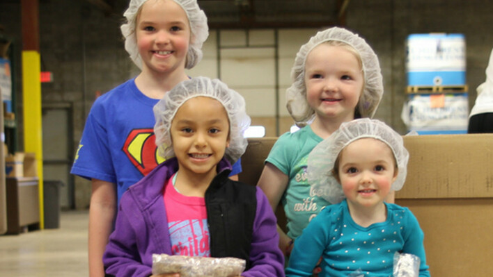 Volunteer at Children's Hunger Fund